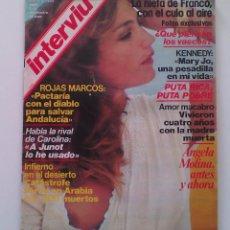 Coleccionismo de Revista Interviú: REVISTA INTERVIÚ Nº 225. AÑO 1980. ANGELA MOLINA. Lote 80735082