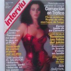 Coleccionismo de Revista Interviú: REVISTA INTERVIÚ Nº239. AÑO 1980. BIBÍ ANDERSEN.. Lote 80735494
