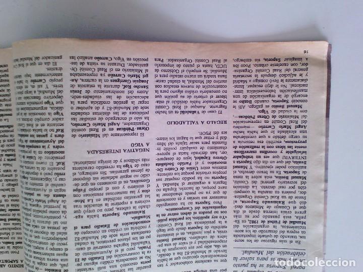 Coleccionismo de Revista Interviú: Revista Interviú Nº250. Año 1981. Amparo Larrañaga Merlo. - Foto 5 - 80735714