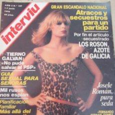Coleccionismo de Revista Interviú: REVISTA INTERVIU AÑO 3 - Nº107 - 1978. Lote 81677920