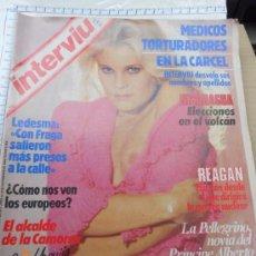 Coleccionismo de Revista Interviú: INTERVIU 442 - PATRIZIA NOVIA - ALBERTO MONACO. Lote 82140796