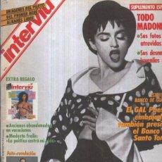 Coleccionismo de Revista Interviú: INTERVIU NUMERO 0742: TODO MADONNA SUS FOTOS MAS ATREVIDAS. Lote 95611783