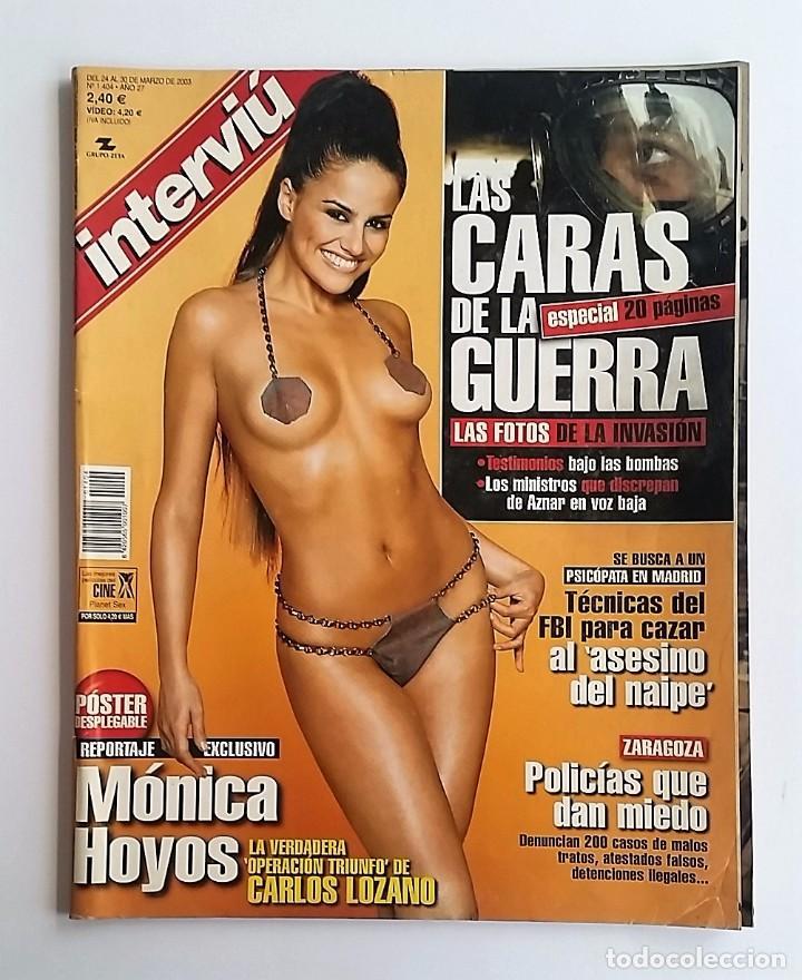 Interviú Marzo 2003 Mónica Hoyos Las Caras D Sold Through