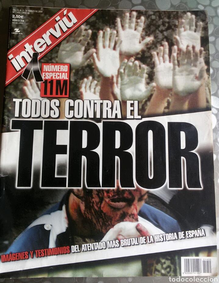 INTERVIU 11M (Coleccionismo - Revistas y Periódicos Modernos (a partir de 1.940) - Revista Interviú)