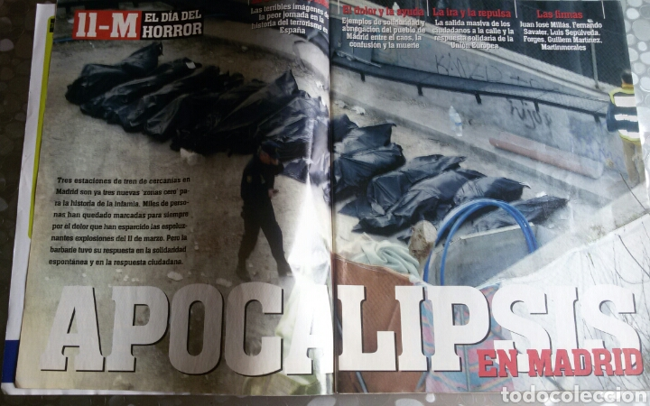 Coleccionismo de Revista Interviú: Interviu 11M - Foto 2 - 84335194