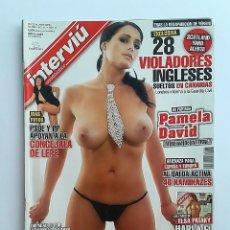 Collectionnisme de Magazine Interviú: INTERVIÚ 1617, ABRIL 2007. PAMELA DAVID - AL QAEDA Y MÁS REPORTAJES.. Lote 85155416