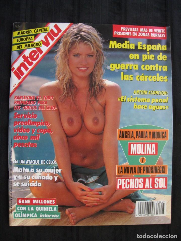REVISTA INTERVIU - Nº 847 - JULIO / AGOSTO 1992. (Coleccionismo - Revistas y Periódicos Modernos (a partir de 1.940) - Revista Interviú)