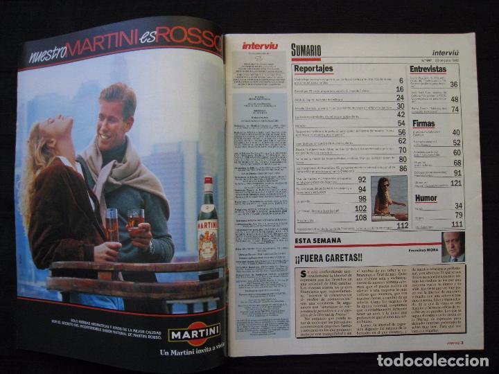 Coleccionismo de Revista Interviú: REVISTA INTERVIU - Nº 847 - JULIO / AGOSTO 1992. - Foto 3 - 86643248