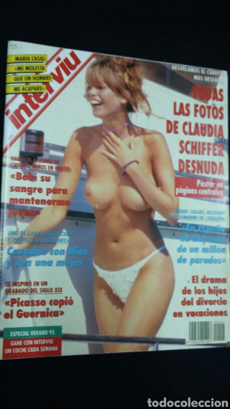 Interviu Septiembre 1993 Claudia Schiffer Tdk Sold Through
