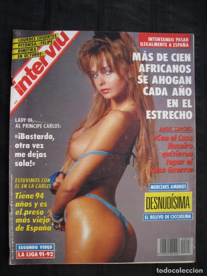 REVISTA INTERVIU - Nº 843 - JUNIO / JULIO 1992. (Coleccionismo - Revistas y Periódicos Modernos (a partir de 1.940) - Revista Interviú)