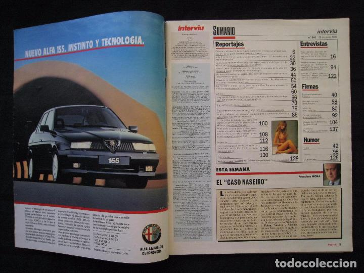 Coleccionismo de Revista Interviú: REVISTA INTERVIU - Nº 843 - JUNIO / JULIO 1992. - Foto 3 - 86924896