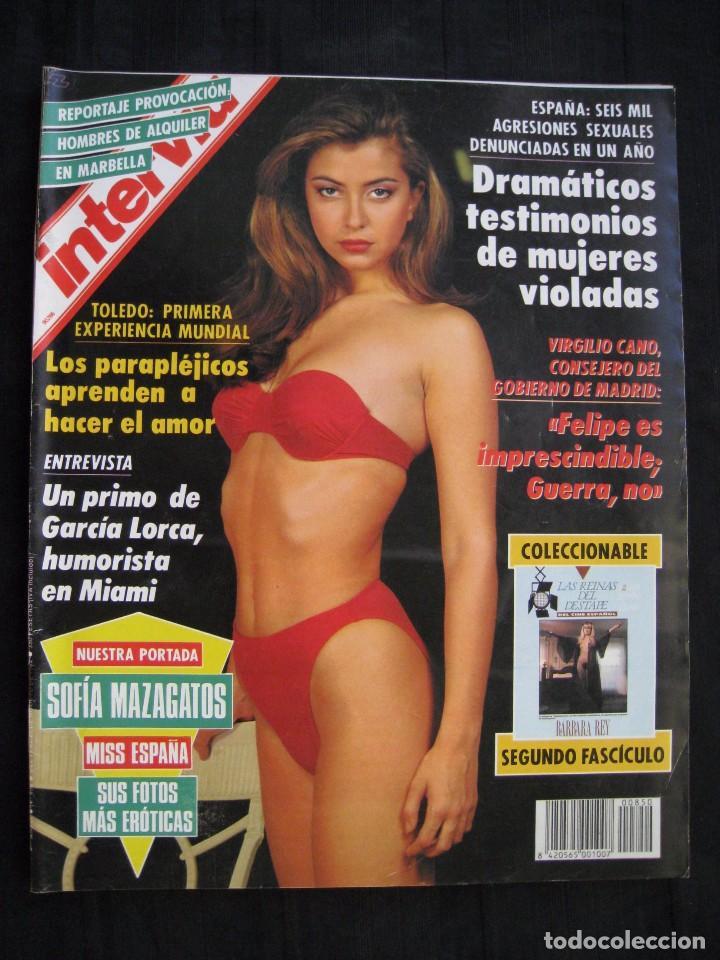 REVISTA INTERVIU - Nº 850 - AGOSTO 1992. (Coleccionismo - Revistas y Periódicos Modernos (a partir de 1.940) - Revista Interviú)