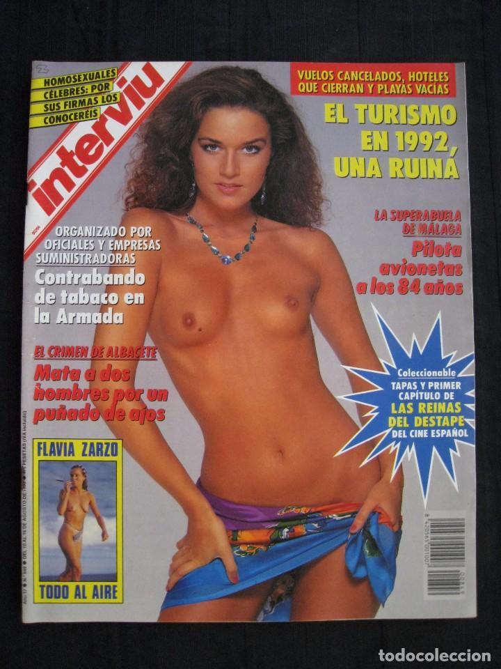REVISTA INTERVIU - Nº 849 - AGOSTO 1992. (Coleccionismo - Revistas y Periódicos Modernos (a partir de 1.940) - Revista Interviú)