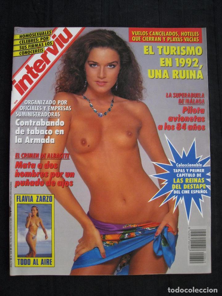 Coleccionismo de Revista Interviú: REVISTA INTERVIU - Nº 849 - AGOSTO 1992. - Foto 2 - 89662628
