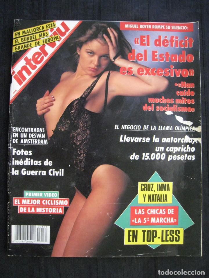 REVISTA INTERVIU - Nº 846 - JULIO 1992. (Coleccionismo - Revistas y Periódicos Modernos (a partir de 1.940) - Revista Interviú)