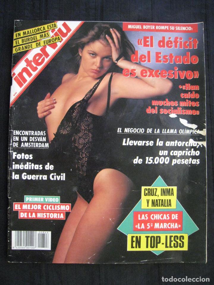 Coleccionismo de Revista Interviú: REVISTA INTERVIU - Nº 846 - JULIO 1992. - Foto 2 - 89663924