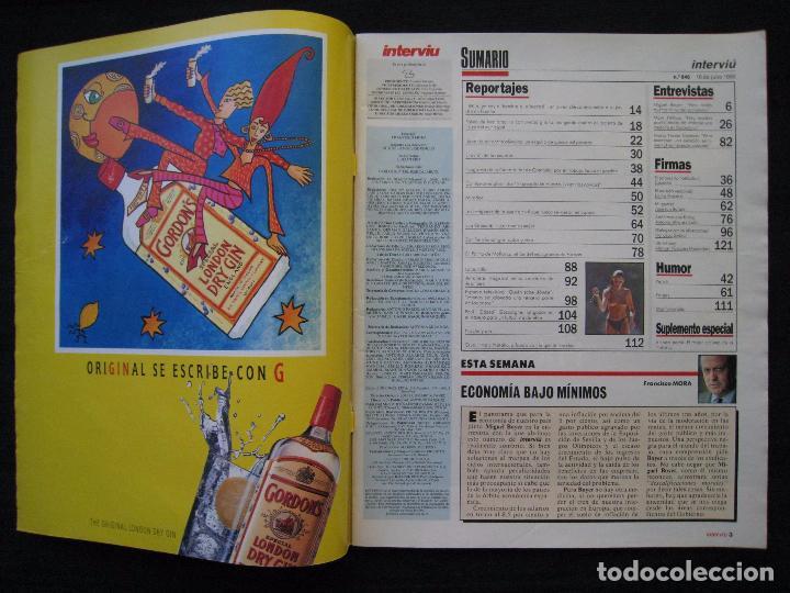 Coleccionismo de Revista Interviú: REVISTA INTERVIU - Nº 846 - JULIO 1992. - Foto 3 - 89663924