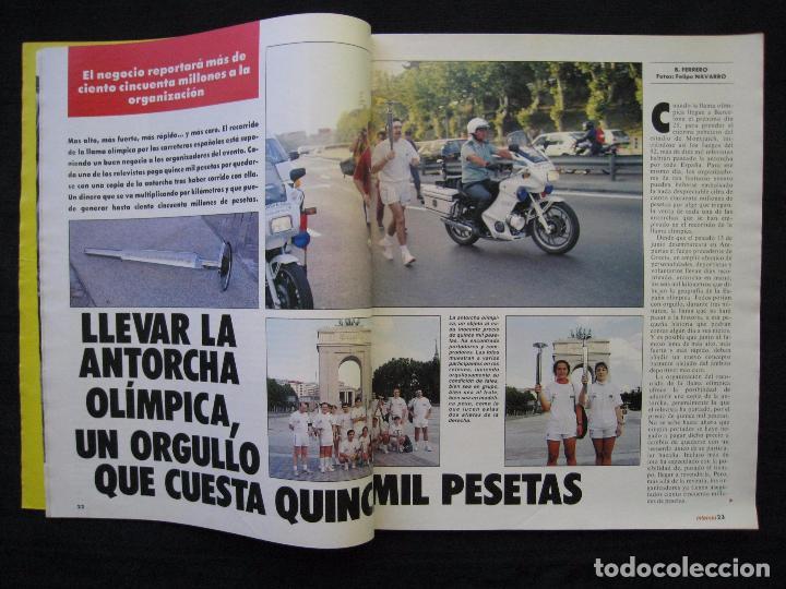 Coleccionismo de Revista Interviú: REVISTA INTERVIU - Nº 846 - JULIO 1992. - Foto 4 - 89663924