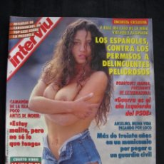 Coleccionismo de Revista Interviú: REVISTA INTERVIU - Nº 845 - JULIO 1992.. Lote 89664792