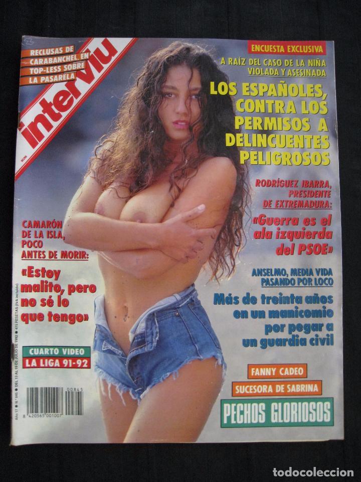Coleccionismo de Revista Interviú: REVISTA INTERVIU - Nº 845 - JULIO 1992. - Foto 2 - 89664792