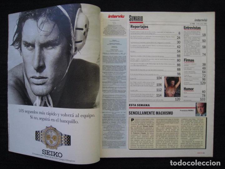 Coleccionismo de Revista Interviú: REVISTA INTERVIU - Nº 845 - JULIO 1992. - Foto 3 - 89664792