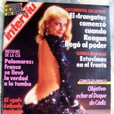 Coleccionismo de Revista Interviú: REVISTA INTERVIU Nº 557 ENERO DE 1987. Lote 93533155