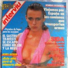 Coleccionismo de Revista Interviú: REVISTA INTERVIU Nº 566 MARZO DE 1987. Lote 93533565