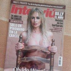 Colecionismo da Revista Interviú: INTERVIU Nº 2149 03-07-2017. Lote 93614825