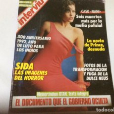 Coleccionismo de Revista Interviú: INTERVIU Nº 543, PALOMA PICASSO , CASO NANI, LA NOVIA DE PRINCE JACKIE ST. CLAIR. Lote 194338543