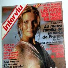Coleccionismo de Revista Interviú: REVISTA INTERVIU Nº191 ENERO 1980. BO DEREK. MIGUEL BOSE. CUNNINGHAM REAL MADRID. CAJONERO ZARAGOZA. Lote 95680067