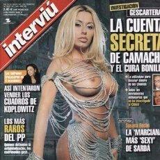Coleccionismo de Revista Interviú: INTERVIU Nº 1344. SUSANA RECHE. LAS JUERGAS DEL BARÇA. PRESUNTOS IMPLICADOS. ESTHER KOPLOWITZ.. Lote 95690543