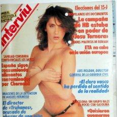 Coleccionismo de Revista Interviú: REVISTA INTERVIU Nº683 AGOSTO 1989. PORTADA Y AMPLIO REPORTAJE SABRINA SALERNO. FOTOS. ALFA ROMEO. Lote 95707319