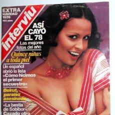Coleccionismo de Revista Interviú: REVISTA INTERVIU NÚMERO EXTRA NAVIDAD. NADIUSKA - SILVIA TORTOSA - MARIA REY. Lote 95707463