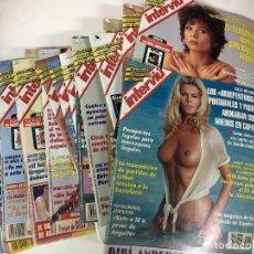 Coleccionismo de Revista Interviú: LOTE 19 REVISTAS INTERVIU NUMS 954 A 972 AÑO 1994. Lote 96331179