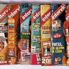 Coleccionismo de Revista Interviú: LOTE DE 10 REVISTAS DE INTERVIÚ (VER FOTOS). Lote 96599003