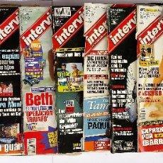 Coleccionismo de Revista Interviú: LOTE DE 11 REVISTAS DE INTERVIÚ (VER FOTOS). Lote 114733986