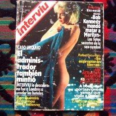 Coleccionismo de Revista Interviú: REVISTA INTERVIU / MARILYN MONROE, MARIA JOSE CANTUDO, EL YIYO, CLAUDIA UDY, ANGELA MOLINA. Lote 97164163