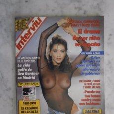 Coleccionismo de Revista Interviú: REVISTA INTERVIU Nº 782 - SABRINA -. Lote 98480479