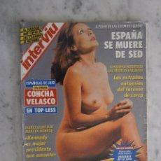 Coleccionismo de Revista Interviú: REVISTA INTERVIU Nº 842 - CONCHA VELASCO - MARILYN MONROE - VERONICA FORQUE. Lote 98481347