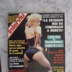 Coleccionismo de Revista Interviú: REVISTA INTERVIU Nº 826 - MADONNA -. Lote 98481683