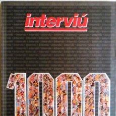 Coleccionismo de Revista Interviú: REVISTA INTERVIU 1000.. Lote 98635707