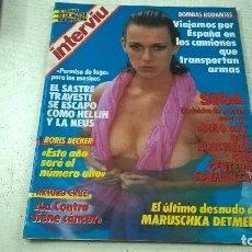 Coleccionismo de Revista Interviú: REVISTA INTERVIU Nº 566- AÑO 1987-MARZO-N. Lote 98918475