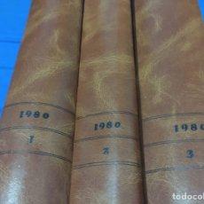 Coleccionismo de Revista Interviú: INTERVIU.AÑO 1980. ENCUADERNADO EN 3 TOMOS. Lote 101402467
