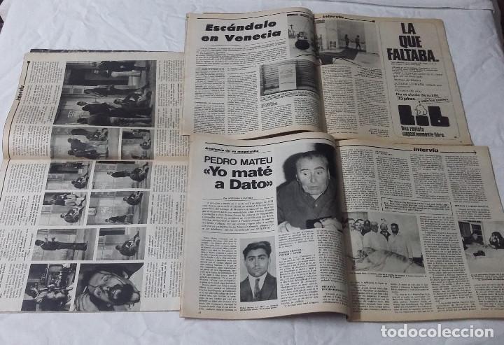 Coleccionismo de Revista Interviú: Lote de 3 revistas Interviú Nº24, 25, 26 - Foto 2 - 102348951