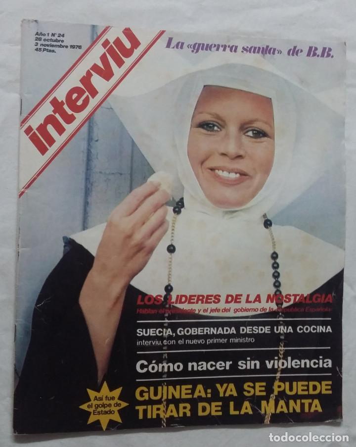 Coleccionismo de Revista Interviú: Lote de 3 revistas Interviú Nº24, 25, 26 - Foto 4 - 102348951