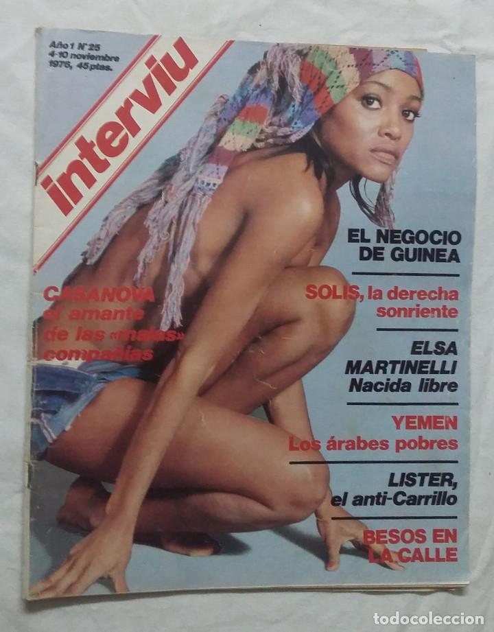 Coleccionismo de Revista Interviú: Lote de 3 revistas Interviú Nº24, 25, 26 - Foto 5 - 102348951