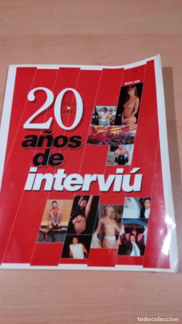 INTERVIU - 20 AÑOS DE INTERVIU 1976 - 1996 (Coleccionismo - Revistas y Periódicos Modernos (a partir de 1.940) - Revista Interviú)