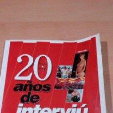 Coleccionismo de Revista Interviú - interviu - 20 años de interviu 1976 - 1996 - 102429607