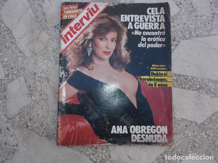 Interviu Nº 46112 Fotos Ana Obregon Desnudafotos Terremoto Chile La Dulce Neus