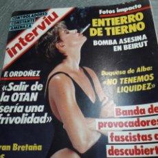 Coleccionismo de Revista Interviú: REVISTA INTERVIÚ NÚMERO 507 AÑO 11 DE 1986. Lote 104222524